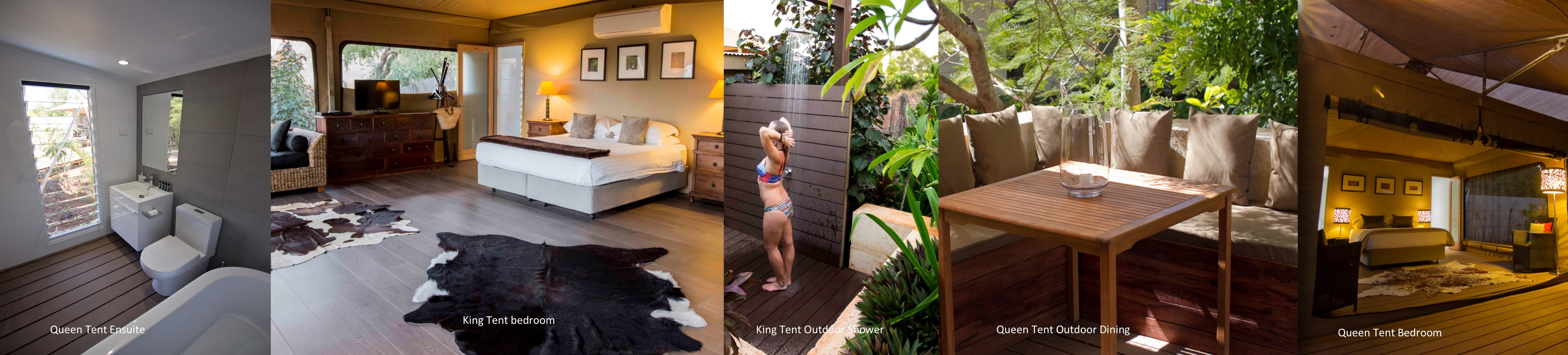Website Tent photo Line - Accommodation page